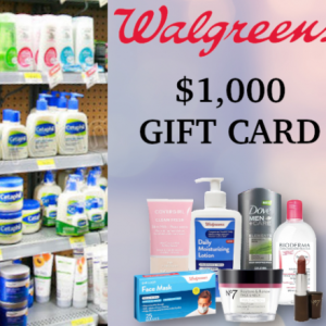 Win A $1000 Walgreens Gift Card USA