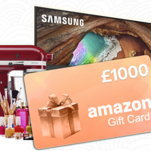 Win a £1000 Amazon Gift Card UK