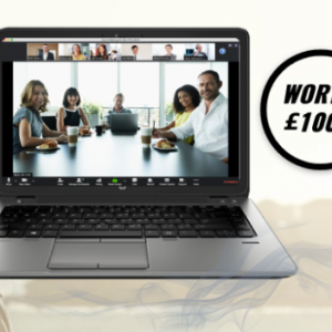 Win a HP laptop + ZOOM subscription UK