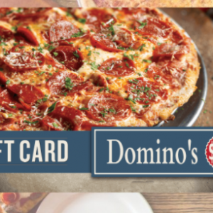 win a $250 Domino's Pizza Gift Card USA