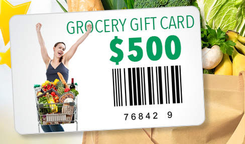 win a $500 grocery gift card usa