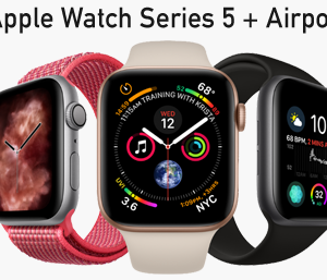win an Apple 5 Watch and Airpods New Zealand